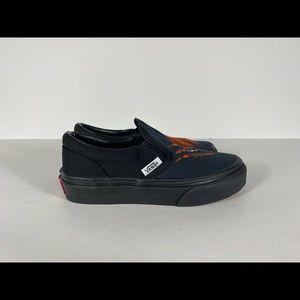 Vans Shoes - Vans Classic Slip-On Dragon Flame Black Sneakers